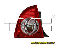 TYC Left Side Tail Light Lamp Assembly for Chevrolet Chevy Malibu LTZ 2008-2012