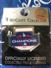 2018 NL West Division Champion Los Angeles Dodgers Pin wincraft collection WS'18