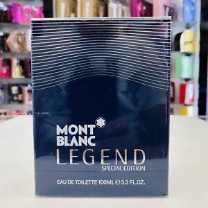Mont Blanc Legend Special Edition Eau De Toilette Spray Men 3.3 oz * New In Box