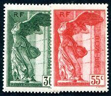 FRANKREICH 1937 359-360 * SATZ TADELLOS LOUVRE Yv 354-355 170€(I2270