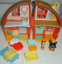 🏡 Bing Bunny House Playset-All Complete-Fisher Price **EXCELLENT CONDITION**🏡