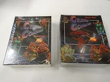 CELESTIAL COMBATANTS STARTER BOX AND GAME BOX CARD GAME NEW IN SEALED BOXES