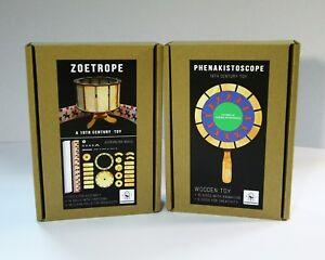 Zoetrope + Phenakistoscope (2 animation optical toys)