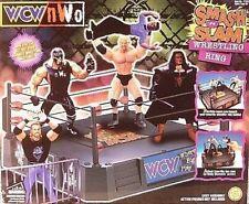 Smash 'n Slam WCW NWO Wrestling Ring BY TOYBIZ NEW SEALED GOLDBERG STING