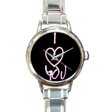 Reloj Pulsera te Amo Reloj Redondo italiano de bisutería de regalo especial para seres queridos