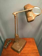 Dazor Floating Light Fixture Vintage Magnifying Drafting Lamp UL M270 Made USA