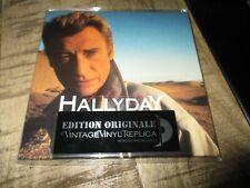 JOHNNY HALLYDAY GANG RARE CD VINTAGE REPLICA VINYL
