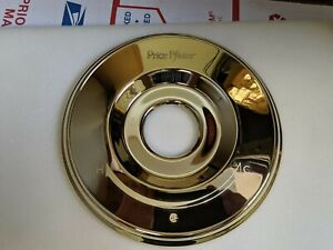 PRICE PFISTER  Shower Trim -- (Dial Plate ONLY) -- POLISHED BRASS