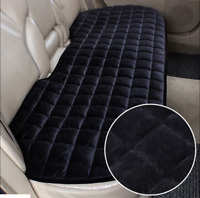 Black Universal Rear Car Auto Seat Cover Plush Protector Mat Chair Cushion UK