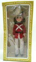 """Effanbee 15"""" Girl Soldier Doll Parade of the Wooden Soldiers Series USA Vintage"""