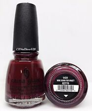 China Glaze Nail Lacquer - CHEERS HOLIDAY Collection - Choose Any Color