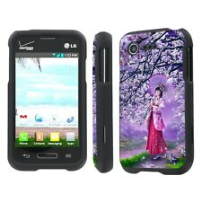 LG Optimus Fuel / Zone 2 Total Cover Phone Case - Onegai Twin