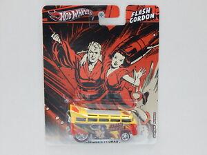 "1:64 Volkswagen T1 Drag Bus ""Flash Gordon"" Hot Wheels X8326"
