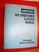 1988 DOMESTIC MOTOR'S AIR CONDITIONER SERVICE MANUAL CAR TRUCK 1987 IMPORTS