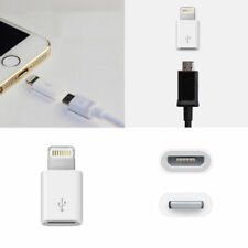 Micro USB Female to 8 pin Lightning Charger Adapter for iPhone X XS 8 7 6S 5S SE