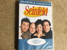 * DVD TV NEW SEALED * SEINFELD SEASON 2 EPISODES 11 - 13 *