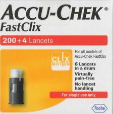 1301 ) - FastClix - Accu Chek - Lancets 204 -  New ( 1 pk) - ok till 2023
