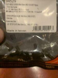 Hpi 94529 Flat Head Screw M4 X 10mm 2,5mm Hex Socket (10)