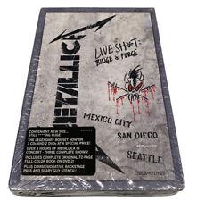 🔥Metallica Live Shit: Binge & Purge [3 CD & 2 DVD] Brand New Sealed🔥