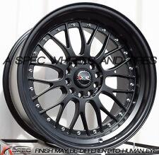 XXR 521 18X10 Rims 5x114.3/120mm +25 Black Wheels Fits 350z G35 240sx Rx8 Rx7