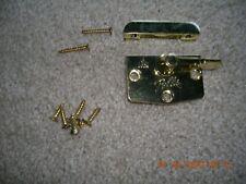 (((Pella))) Designer Series Double Hung Lock & Strike Brass - New  OBHZ0000