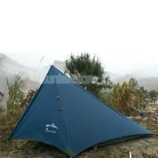 1-2 Person WATERPROOF Double Layer Outdoor Camping Awning Tent Sun Shelter
