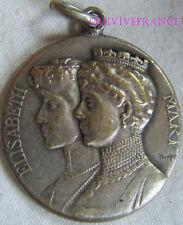 BG6136 - MEDAILLE REINES MARIE & ELISABETH 1914-1915  par DROPSY
