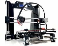 Desktop 3D Printer Kit With Molded Plastic Parts Prusa I3 V2 Black