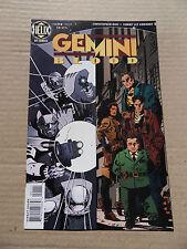 Gemini Blood 1 . DC / Helix 1996 - VF - minus