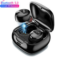 TWS Bluetooth 5.0 Earphone Stereo Wireless Earbuds Headphones HIFI Sound Headset