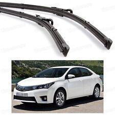 "26"" 14"" Car Windscreen Wiper Blade Bracketless for Toyota Corolla 2014 2015 2016"