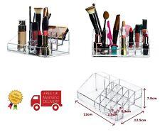 Lápiz Labial Organizador Maquillaje Cosmético Acrílico Soporte De Exhibición 16 secciones-Reino Unido Vendedor