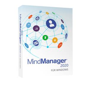 Mindjet MindManager 2020 Deutsche Version - 1 PC - Lifetime Lizenzcode - SOFORT
