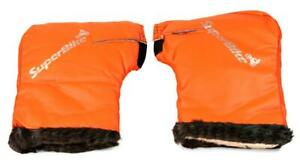 SuperBike Thermal Motorcycle Handle Bar Mitts Muffs Gloves Hand Warmer