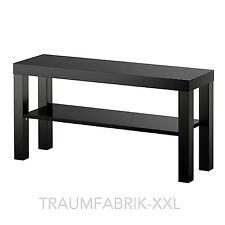 Ikea Fernsehtisch schwarz TV-Regal Wohnzimmerregal 90 x 26cm Wohnzimmer Lack NEU