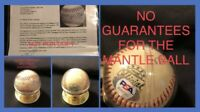 Great Chase To The Mickey Mantle Signed Baseball PSA