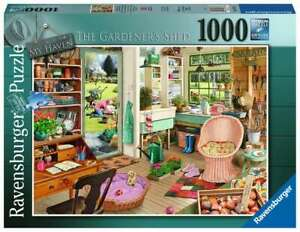 Ravensburger - My Haven No.8 The Gardeners Shed  1000pc Jigsaw Puzzle