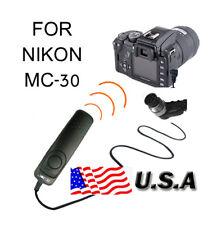 REMOTE Cable RELEASE FOR NIKON D300 D200 D700 D3 D2X F6 S5 MC-30