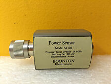 Boonton 51102, 30 MHz to 26.5 GHz, 300 mW, -20 to +20 dBm, Power Sensor