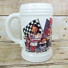 "Budweiser Beer Stein Bill Elliott Jimmy Johnson 1992 Racing Ford Mug 5""  18 oz"