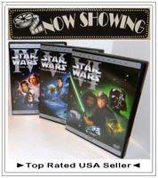 ✅ Star Wars Trilogy A New Hope Empire Strikes Back Return of Jedi Dvd Widescreen