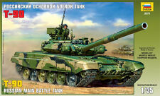 ZVEZDA 3573 RUSSIAN MAIN BATTLE TANK T-90 MODEL KIT 1/35