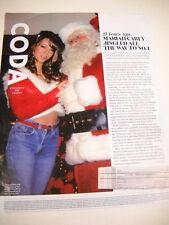 Mariah Carey 21 Years Ago She Jingled. 2015 Promo Display Page