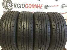 4x 205/55 R17  205 55 17  2055517  91V, CONTINENTAL ESTIVE, 6,1-5,9mm, DOT.3212