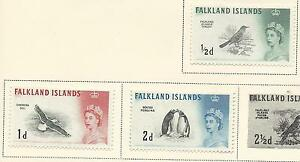 1960 Birds Part Set of 3 Mint Hinged as per Scan
