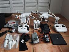DJI Phantom 3 Advanced Drone+ DJI Phantom 2, case etc LARGE BUNDLE NO RESERVE
