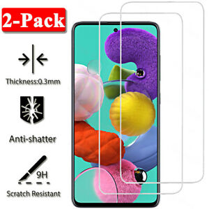 For Samsung Galaxy A71 A51 A70 A50 A40 A20E A10 Tempered Glass Screen Protector