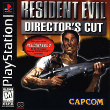 Resident Evil (PlayStation 1 1997) Director's Cut Game + RE2 Demo Ships NEXT DAY