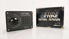 Metone Model 23 Electronic Metronome Vintage Modern Industrial