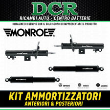 Kit 4 Ammortizzatori Anteriori e Posteriori MONROE 401001RM 251005RM FIAT 600